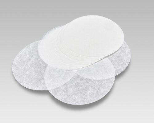 Dischi per hamburger in carta da forno bianca